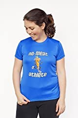 Women's Royal Blue Short Sleeve Technical Shirt
