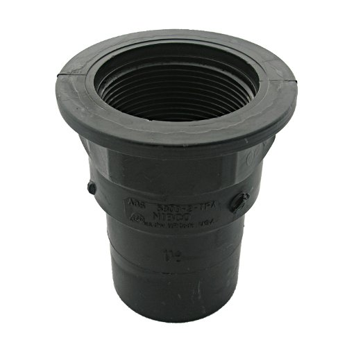 LASCO RV280 Tray Plug Adapted with 1 1/2-Inch Fitting and Female Pipe Thread, ABS Black Plastic (Plumbers Fitting Tray compare prices)