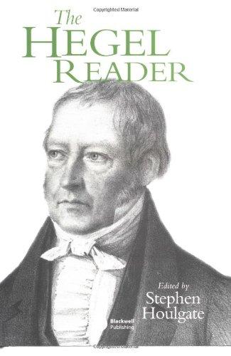 The Hegel Reader