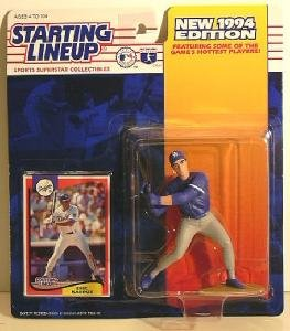 "4"" Eric Karros of Los Angeles Dodgers Action Figure - Major League Baseball New 1994 Edition Starting Lineup Sports Superstar Collectible"