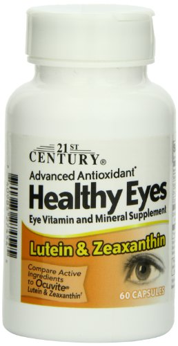 21St Century Healthy Eyes Lutein And Zeaxanthin Capsules, 60 Count