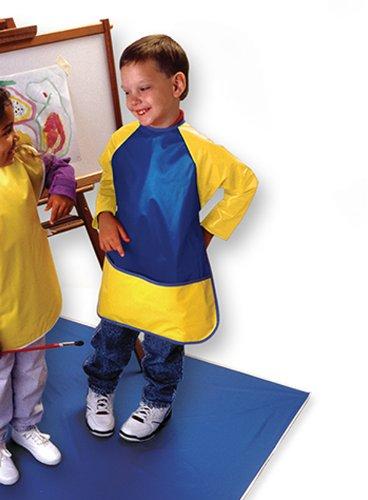 Kinder Smocks Long Sleeves Ages 3-6; no. PZ-LS1