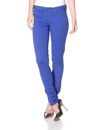 SOLD Design Lab Women's Spring Street Skinny Jean  - Royal Blue