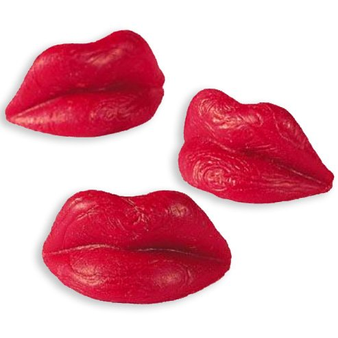 Red Wax Lips Candy