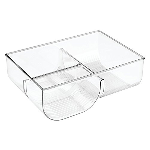 InterDesign Linus Lid Organizer for Kitchen Cabinet, Pantry Storage - Clear (Upright Freezer Organizer compare prices)