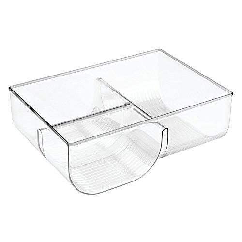 InterDesign Linus Lid Organizer for Kitchen Cabinet, Pantry Storage - Clear (Upright Freezer Organizer compare prices)