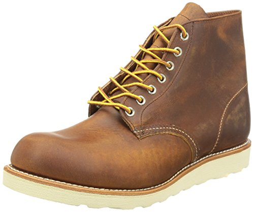 "Red Wing Heritage Round 6"" Boot,Copper Rough and Tough,10 D US"