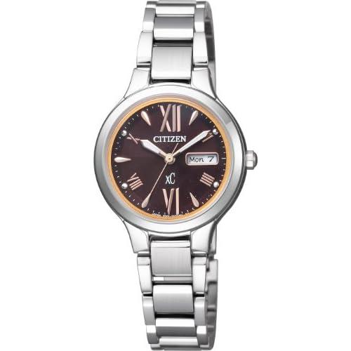 [シチズン]CITIZEN 腕時計 xC クロスシー Eco-Drive エコ・ドライブ デイデイト EW3220-54W レディース