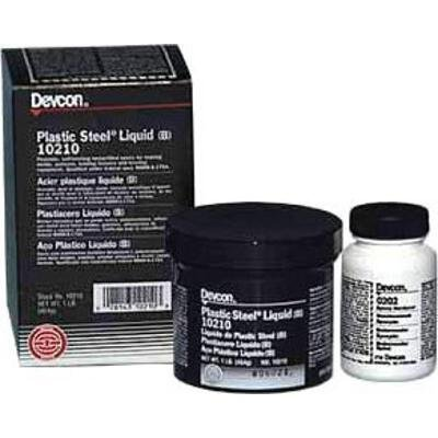 Devcon Filler – Gray Liquid 4 lb – 45 min Working Time – Shore Hardness 85 Shore D, Tensile Strength 2800 psi – 10220 [PRICE is per BOTTLE]