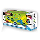 Mindscope Twister Tracks 254 BUMP & GO RACE SET Neon Glow in the Dark Series As Seen on TV Neo Tracks (COMES WITH BROWN MAILER CARTON)