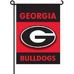 Buy NCAA Georgia Bulldogs 2-Sided Garden Flag by BSI