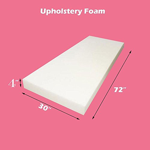 "Why Choose Mybecca Upholstery Foam Cushion (Seat Replacement/Upholstery Sheet), 4"" L X 30""..."