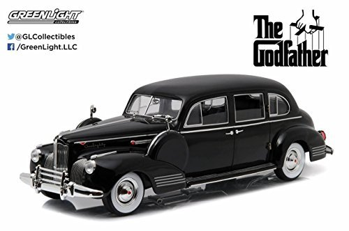 new-118-the-godfather-black-1941-packard-super-eight-one-eighty-diecast-model-car-by-greenlight-by-g