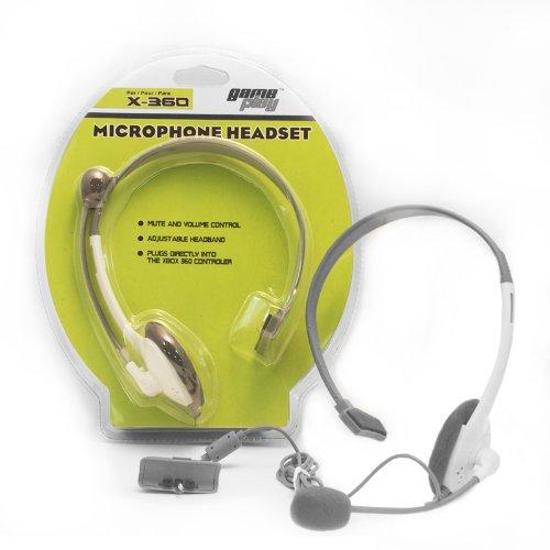 Gameplay Xbox 360 Wired Headset White
