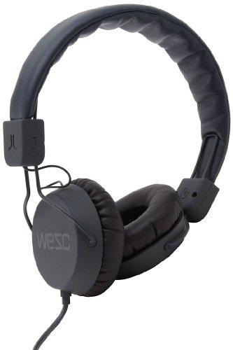 Wesc 0007191990 Piston Street Headphones With Mic, Charcoal