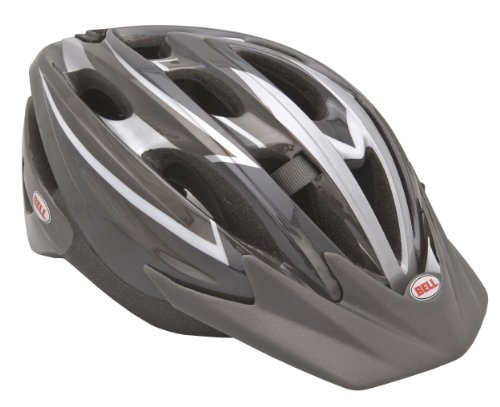 Buy Low Price Bell Escape Bike Helmet (Titanium, fits head size 23-1/4 – 24) (B003QEKZH0)