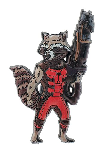 Marvel Guardians of the Galaxy Rocket Raccoon PVC Magnet - 1