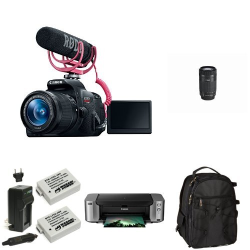 Canon EOS Rebel T5i Video