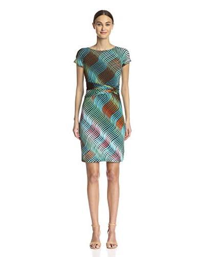 Ellen Tracy Women's Short Sleeve Jersey Dress