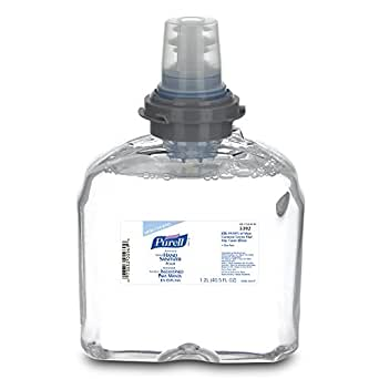 PURELL 5392-02 TFX Refill - Advanced Instant Foam Hand Sanitizer (1200 mL) - 2 Pack