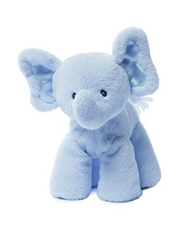"Gund Baby Bubbles Elephant Plush, Blue, 7.5"""