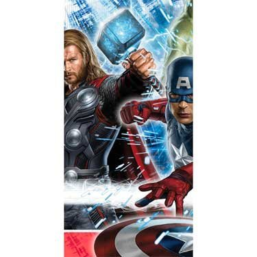 Avengers Plastic Tablecover Party Accessory