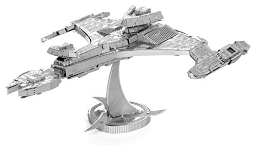 Fascinations Metal Earth Star Trek Klingon Vor'Cha Class - 1