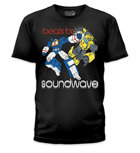 The Transformers 80's Decepticon Beats by Soundwave Bumblebee T-shirt