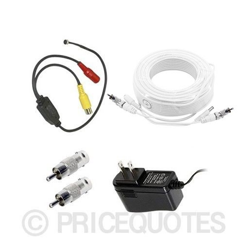 Samsung Surveillance Security System Microphone Kit (Compatible with 4,8,16 Channel)