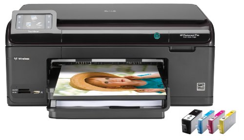HP Photosmart Plus All in One Printer and XL Ink Cartridges Bundle