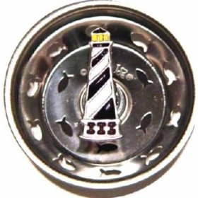 Hatteras Lighthouse Sink Strainer Drain Kitchen Decor