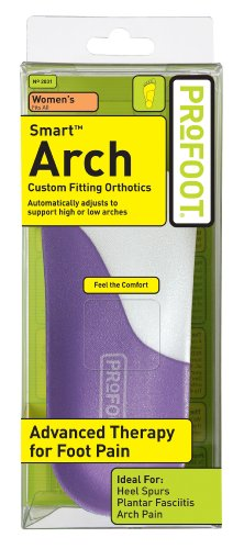 Profoot Care Smart Arch Women, Purple and White (Pack of 2)