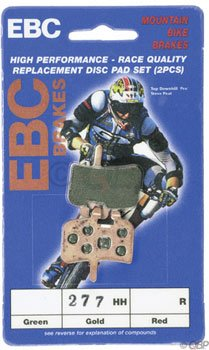 Buy Low Price EBC Disc Brake Pads Hayes, Gold (CFA277HH)