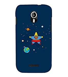 EPICCASE Space star Mobile Back Case Cover For Micromax Canvas Magnus A117 (Designer Case)