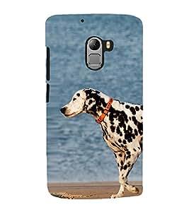Vizagbeats Dalmatian Dog Back Case Cover for Lenovo Vibe K4 Note