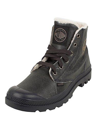Palladium Uomo Pampa Hi Leathers Boots, Nero, 41