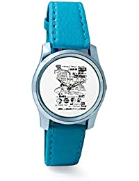 BigOwl Psychedelic Reality Painting Women's Analog Wrist Watch 2114874536-RS2-S-TEA
