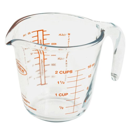 Pyrex Prepware Measuring Cup Coffee Arcuisine (16 Oz.)