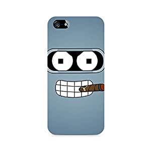 Ebby The Cigar Premium Printed Case For Apple iPhone 5/5s