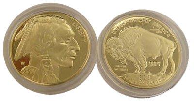 2007 $50 American Buffalo Gold Replica Coin