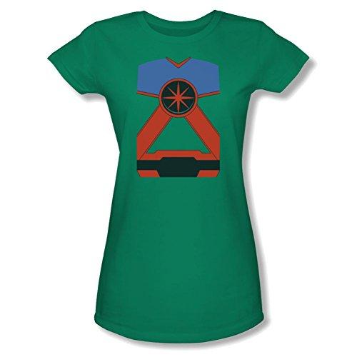 Martian Manhunter Costume Ladies Junior Fit T-Shirt