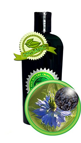 Black Cumin Seed Oil Black Seed Oil - 4Oz/120Ml - 100% Pure, Undiluted, Cold-Pressed, Unrefined, Virgin - Rich Source Of Vitamins, Omegas, Essential Fatty Acids: Oleic, Linoleic, Linolenic Acid, Protein, Vitamin B1, B2, B3, Folic Acid, Calcium, Iron, Copp