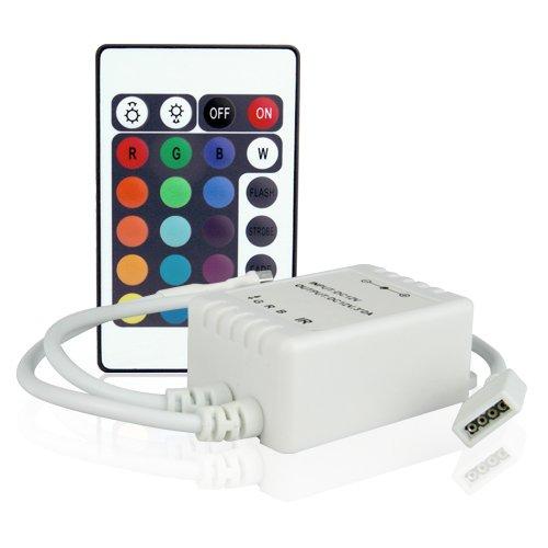 Lighting Ever Remote Controller Of Led Strips, Led Ribbon Lights, 12V Dc