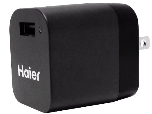 Haier Audio 10 Watt Power Wall Charger with Apple 30 Pin & Micro/Mini USB Cable for iPad, iPhone, iPod, Blackberry & Android (Tablet Android Haier compare prices)