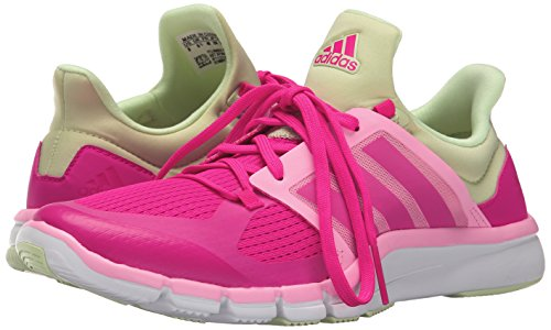 Adidas Performance Women's Adipure 360.3 W Training Shoe,Shock Pink/Shock Pink/Halo Yellow,8.5 M US