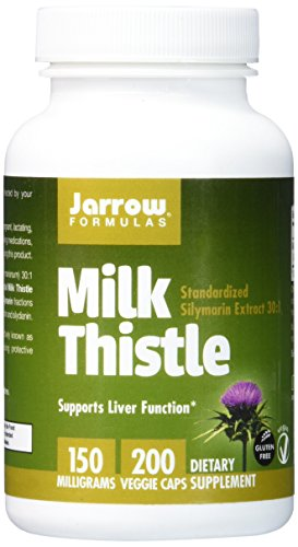 Jarrow Formulas Milk Thistle Standardized Silymarin Extract 30:1 Ratio