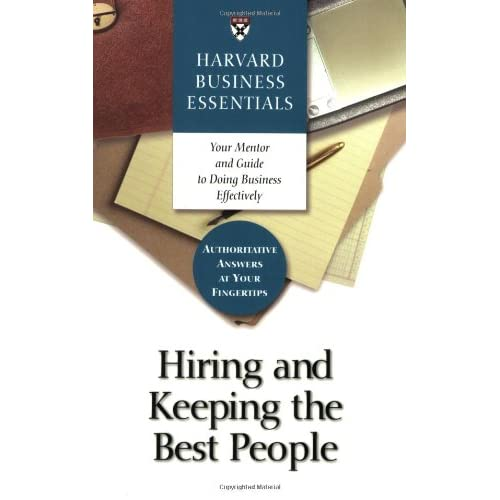 Hiring and Keeping the Best People preview 0