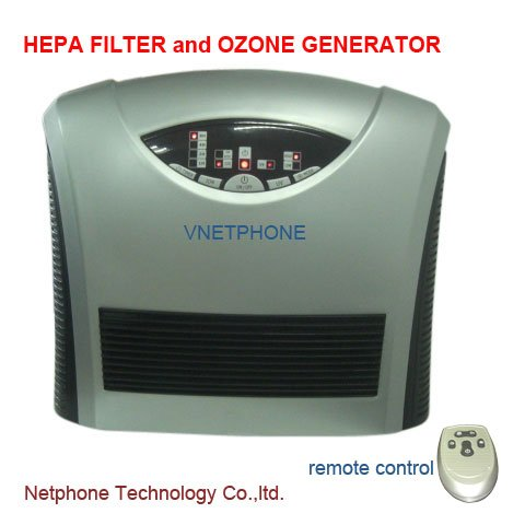Onairmall® H-9079 Air Purifier Air Cleaning System With Hepa Filter And Ozone Generator front-564739