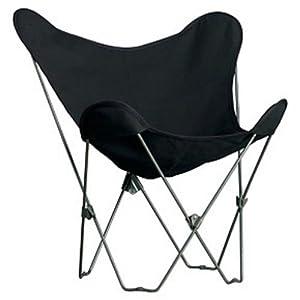 Algoma 4053-57 Butterfly Chair Black Frame Ebony by Algoma