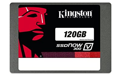 Kingston Technology 120GB Solid State Drive 2.5-inch V300 SATA 3 with Adapter